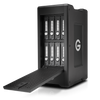 The G-SPEED Shuttle XL 64TB 8-Bay Thunderbolt 2 RAID Array from G-Technology has a transportable design that helps make it suitable for use in the field.