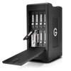 The G-SPEED Shuttle XL 32TB 8-Bay Thunderbolt 2 RAID Array from G-Technology has a transportable design that helps make it suitable for use in the field