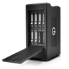 The G-SPEED Shuttle XL 36TB 8-Bay Thunderbolt 2 RAID Array from G-Technology has a transportable design that helps make it suitable for use in the field.