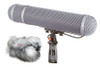 Rycote 086013 Modular Windshield 5 Kit (XLR-5), includes Connbox 4, For Sanken CSS-5