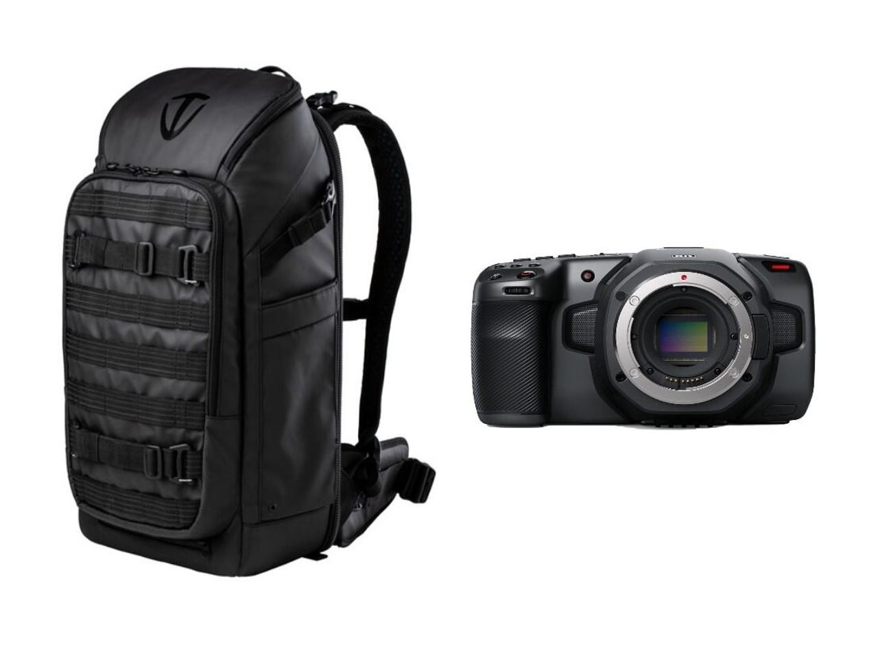 Blackmagic Design Pocket Cinema Camera 6k Tenba Backpack