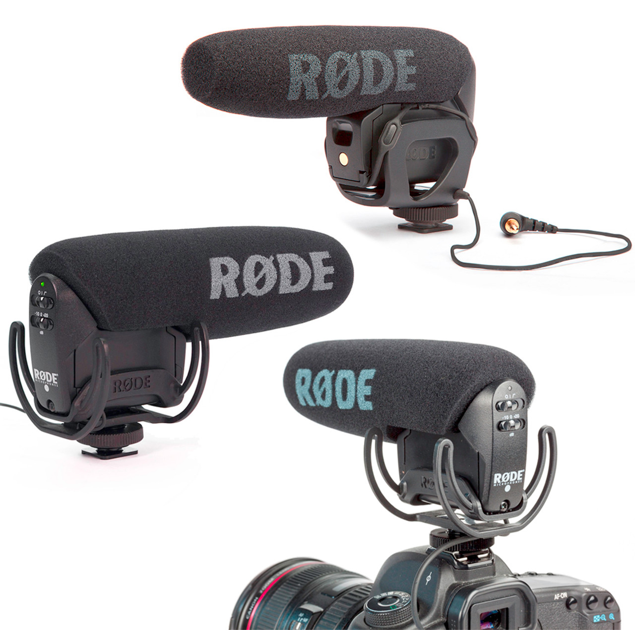 Steady Rode Shotgun Video Mic Selected Material Audio For Video Video Production & Editing