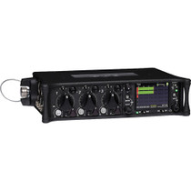 Sound Devices 633 Six-Input Compact Mixer with 10-Track Recorder.