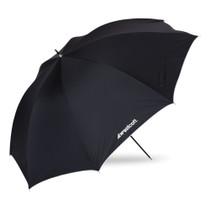 "Westcott 32"" Optical White Satin w/ Removable Black Cover Umbrella"