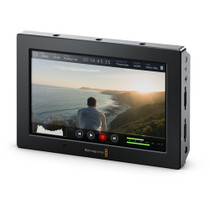 """Add professional monitoring and high-quality recording to virtually any camera with the Blackmagic Video Assist 4K. It features a 7"""" 1920 x 1200 display ."""
