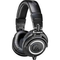 Audio-Technica ATH-M50X Closed-back dynamic monitor headphones, detachable cables, black