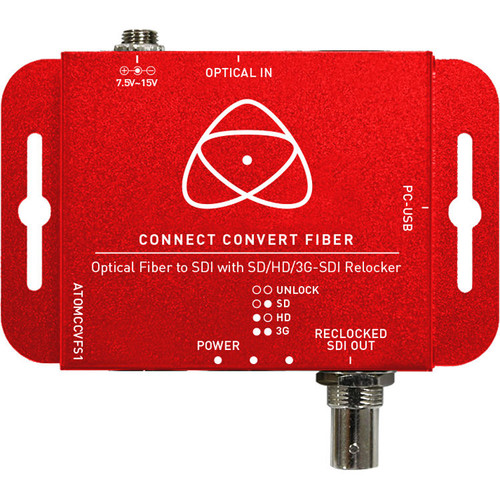 Atomos Connect Convert Fiber to SDI device