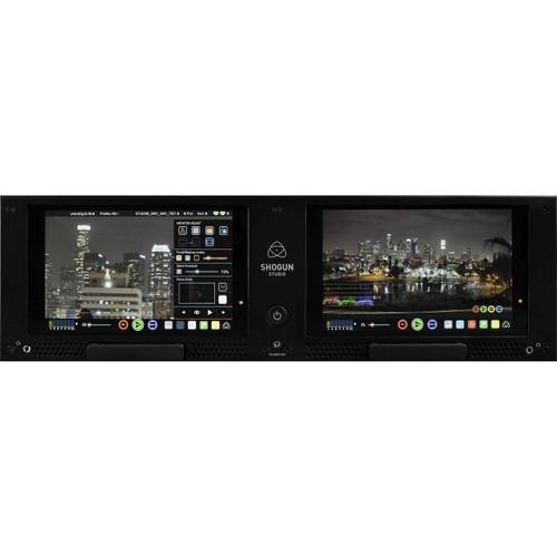 Atomos Shogun Studio 4K Monitor / Recorder 12G-SDI, HDMI: Front View