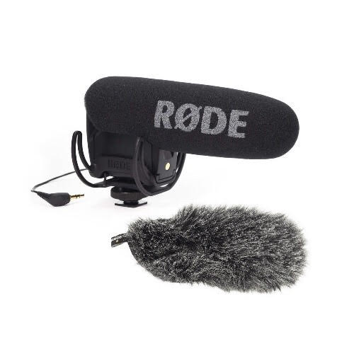 Rode VideoMic Pro and DeadCat VMPR Windshield