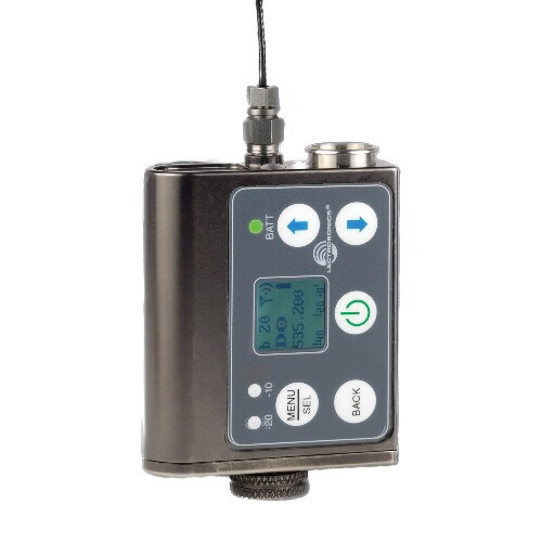 Lectrosonics SMWB Wideband Digital Hybrid Wireless Transmitter/Recorder - WB Series (Single AA Battery)