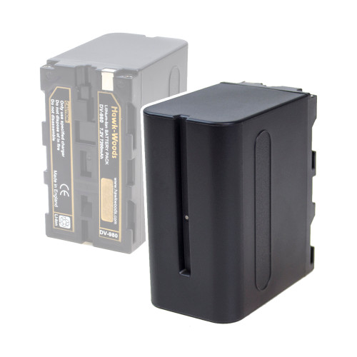 Hawk-Woods DV-F980 Sony Replacement L Series Battery - 7.2V 7200mA