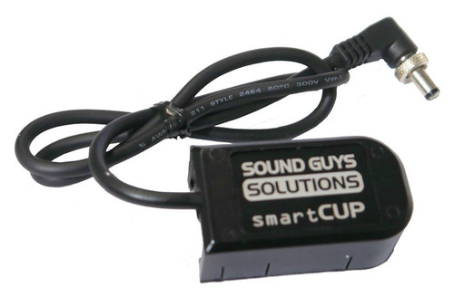 Sound Guys Solutions MD-6 Smart Battery Input Cable, MD6-SMARTCUP