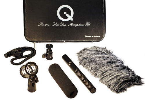 Que Audio 210 Video Shotgun Kit