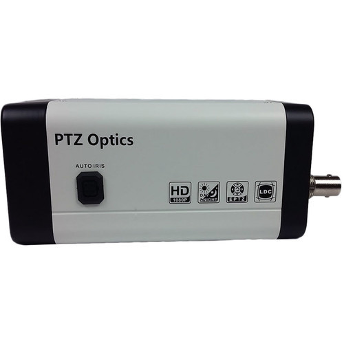 PTZOptics PVTL-ZCAM 2.7MP HD-SDI Box Camera with 4x Wide Angle Zoom Lens