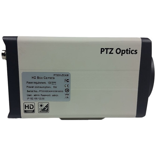 PTZOptics PT20X-ZCAM 2.07MP 1080p HD-SDI Box Camera