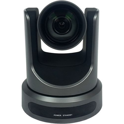 PTZOptics 12x-USB Gen2 Live Streaming Camera (Gray)