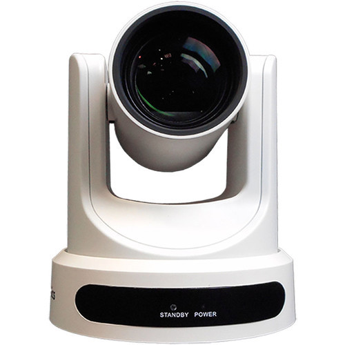 PTZOptics 12x-USB Gen2 Live Streaming Camera (White)