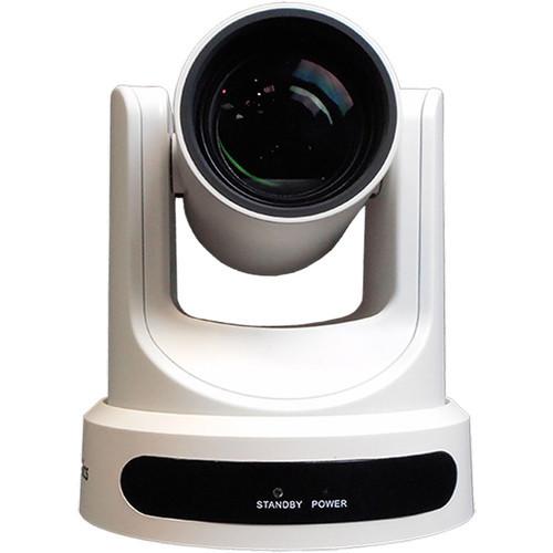 PTZOptics 12x-USB Gen2 Live Streaming Camera (White)