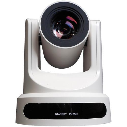 PTZOptics 20x-USB Gen2 Live Streaming Camera (White)