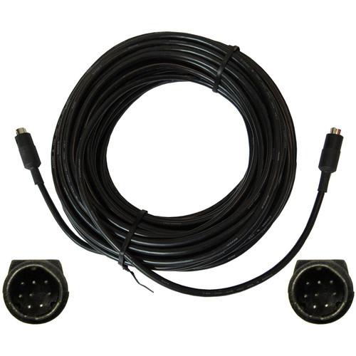 PTZOptics VISCA-100 8-Pin Male to Male Cascade Cable (100')