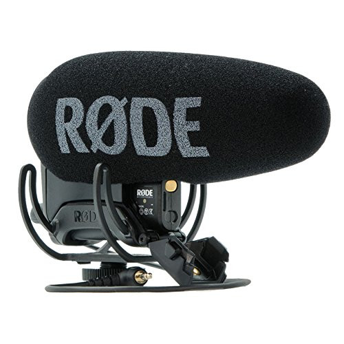 RODE VideoMic Pro+ R with Rycote Lyre Suspension
