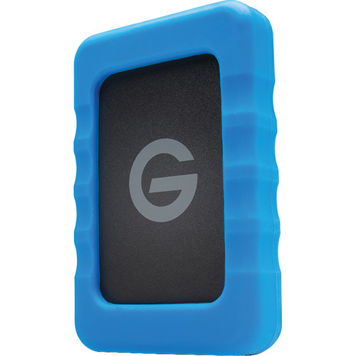 G-Technology 4TB G-DRIVE ev RaW USB 3.0 Hard Drive with Rugged Bumper