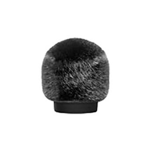 Bubblebee Industries Windkiller Short Fur Slip-On Wind Protector for 18 to 24mm Mics (Extra-Small, Black)