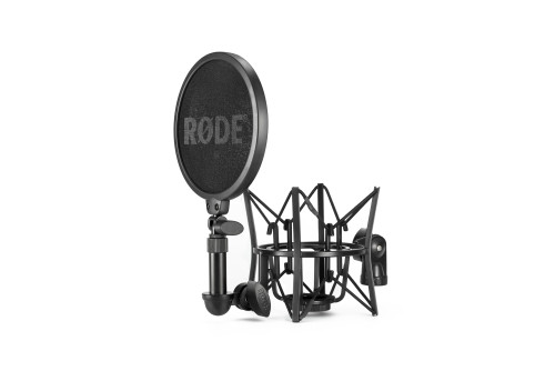 Rode Complete Studio Kit with AI-1 Audio Interface, NT1 Microphone, SM6 Shockmount, and Cables