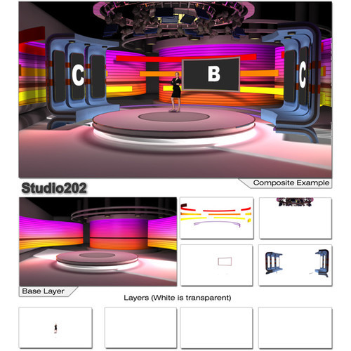 vMix VSPackOnevMix 6 Virtual Sets for vMix Basic
