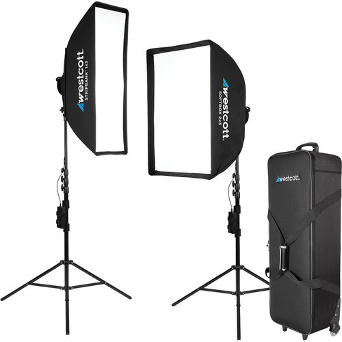 Westcott Solix LED 2-Light Kit by Jen Rozenbaum