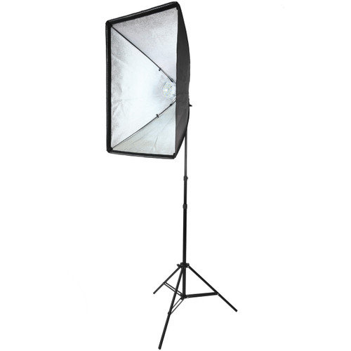 Diva Ring Light Soft Box on Light Stand without Diffusion Cloth