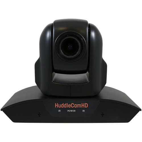 HuddlecamHD HC10XA-BK PTZ Camera with Built-In Audio (Black)
