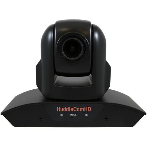 HuddlecamHD HC10XA-BK PTZ Camera with Built-In Audio (Black)