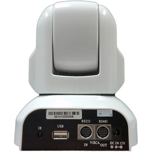HuddlecamHD HC3X-WH-G2 HuddleCamHD PTZ Camera (White)