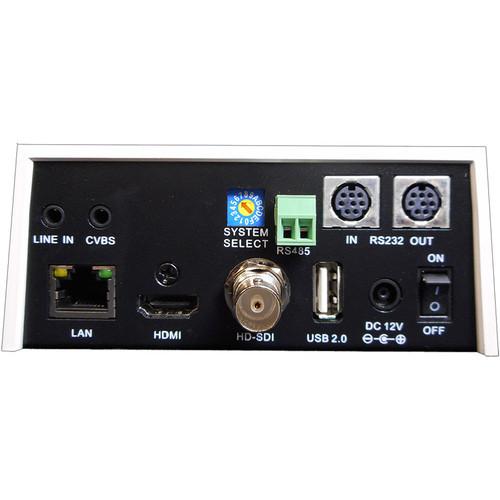 PTZ Optics PT20X-NDI-WH 20x Network Device Interface Camera