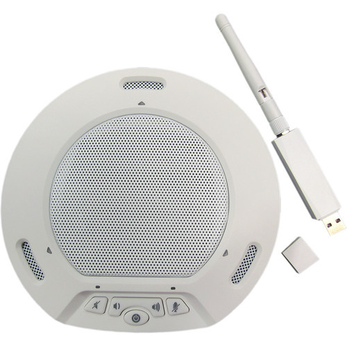 HuddlecamHD HP-AIR-WH Wireless Speakerphone/Receiver Set
