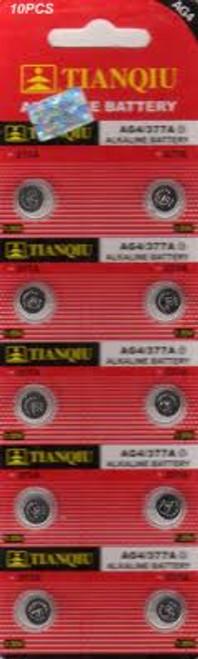 AG4/377A Batteries for Que Audio Mini Shotgun Microphone by Que Audio