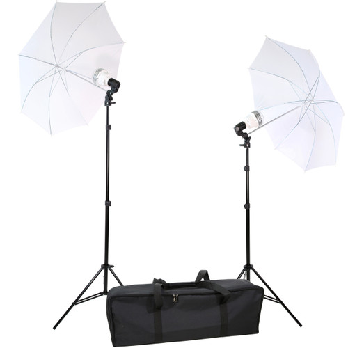 Diva Ring Light 2 Light Umbrella Kit
