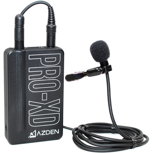 Azden EX-507XD Professional Lapel Microphone for Pro XD