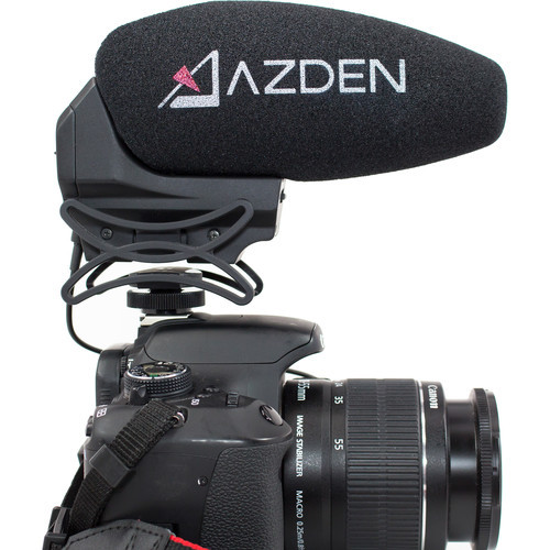 Azden SMX-30 Stereo-/Mono-Switchable Video Microphone