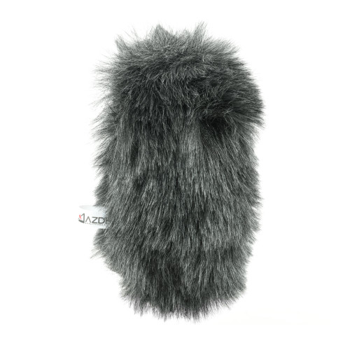 Azden SWS-250 Furry Windshield Cover for SGM-250, SGM-250P and SGM-3416 microphones.