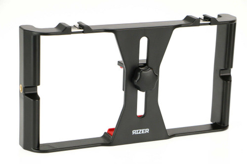 Rizer Smartphone Video Rig Handheld Grip Stabilizer w/ Cold Shoe Mounts