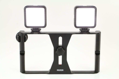 Rizer Smartphone Video Rig with LED Lights & Remote
