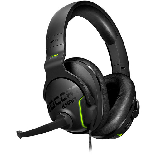 ROCCAT Khan AIMO Virtual 7.1-Channel Surround RGB Over-Ear Gaming Headset