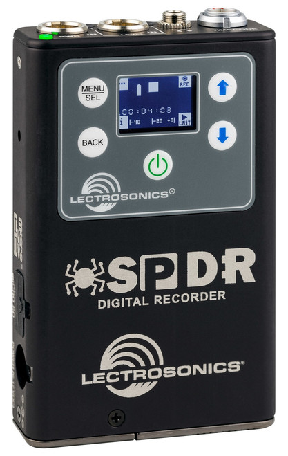Lectrosonics SPDR Stereo Portable Digital Recorder