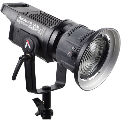 AputureLight Storm LS C120D II LED Light Kit with V-mount Battery Plate