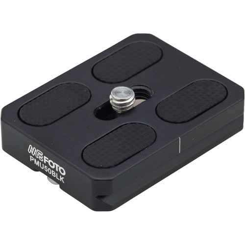MeFOTO RoadTrip and GlobeTrotter Air Quick Release Plate (Black)