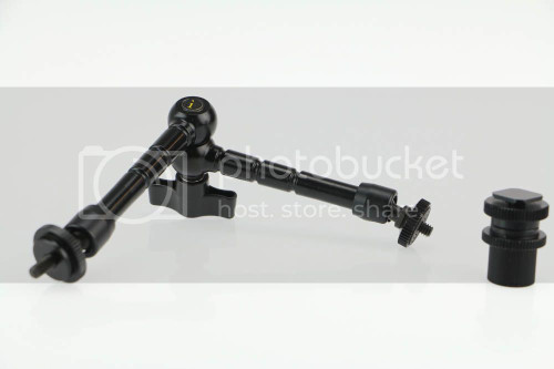"Ikan MA210 10"" Articulating Arm for LCD Monitor OPEN BOX"