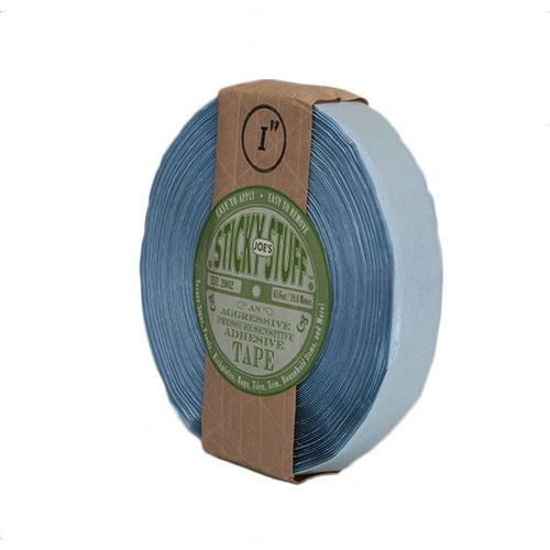 "Joe's Sticky Stuff JSS0165 1"" x 65' Pressure-Sensitive Adhesive Tape"