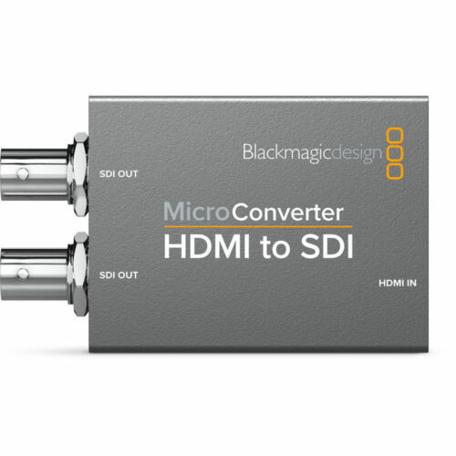 Blackmagic Design Micro Converter HDMI to SDI with Rizer Portable Hard Drive Protective Case